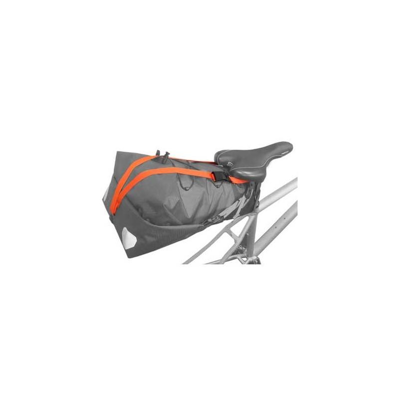 Orlieb fixeerband zadeltas bikepacking E216 Bike4Travel